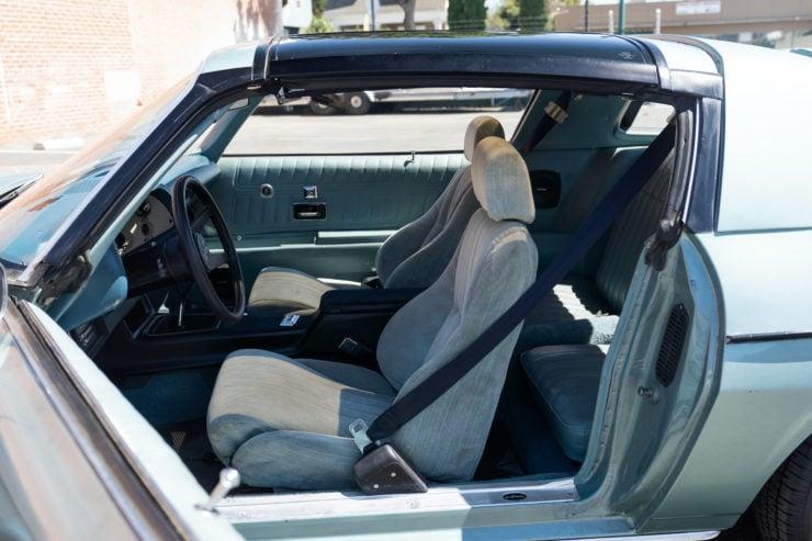 Chevrolet Camaro Europo Hurst Frua Interior 3