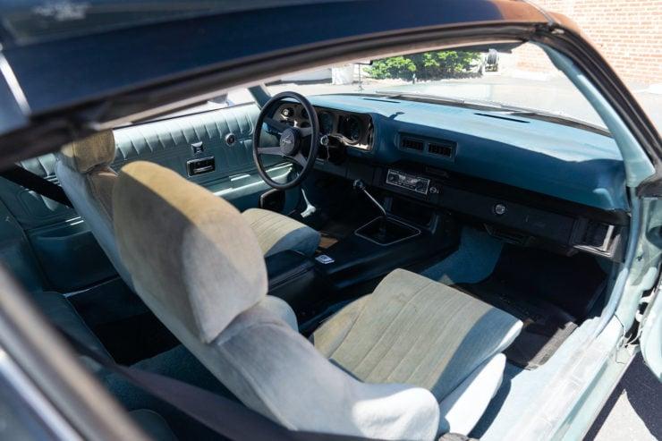 Chevrolet Camaro Europo Hurst Frua Seat