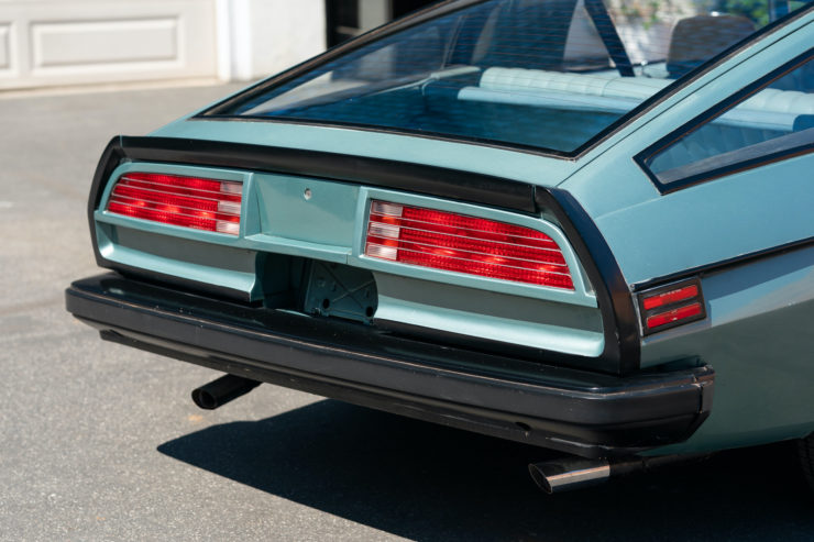 Chevrolet Camaro Europo Hurst Frua Tail Lights