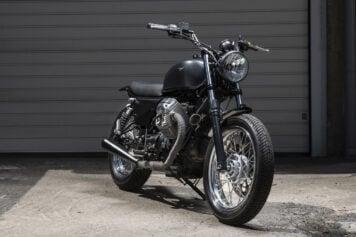Custom Moto Guzzi Nevada 750 1