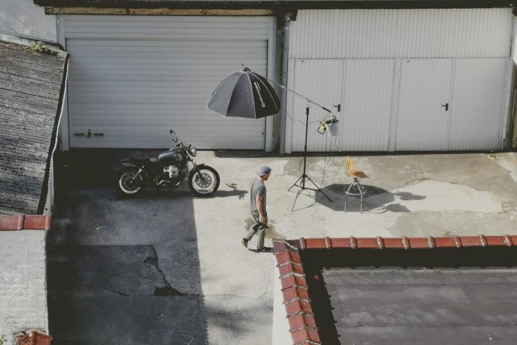 Custom Moto Guzzi Nevada 750 10