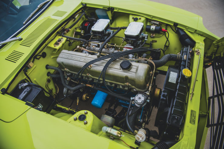 Datsun 240Z Engine Bay
