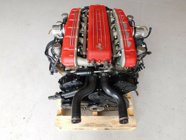 Ferrari 612 Scaglietti V12 Engine 1