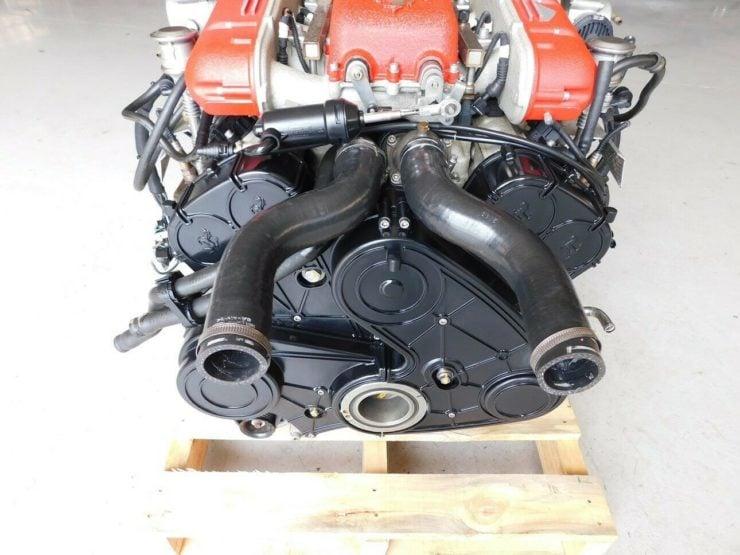 Ferrari 612 Scaglietti V12 Engine 3