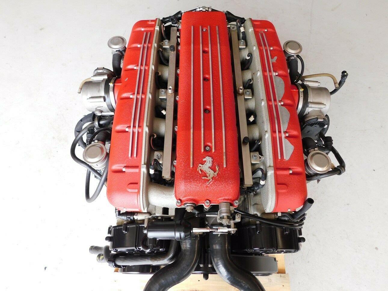 Ferrari 612 Scaglietti V12 Engine