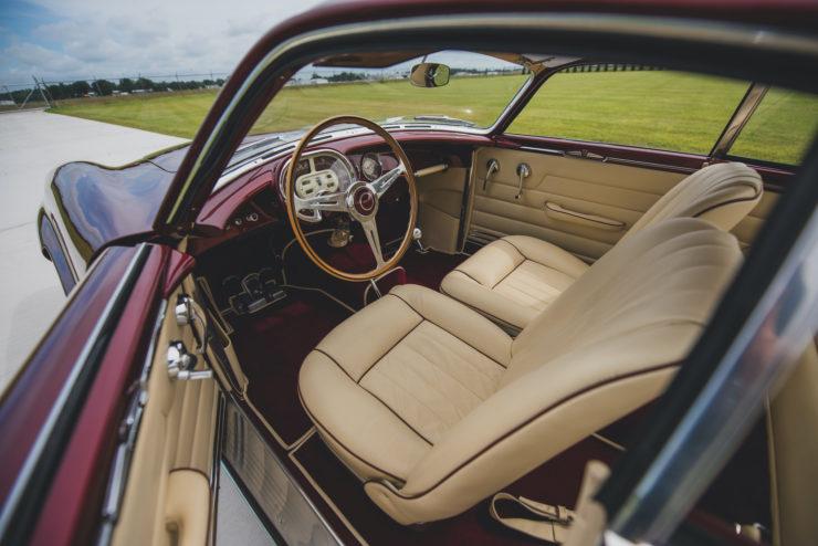 Ghia Supersonic Interior