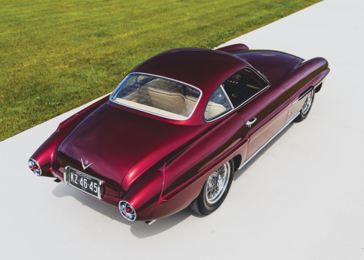 Ghia Supersonic Roof