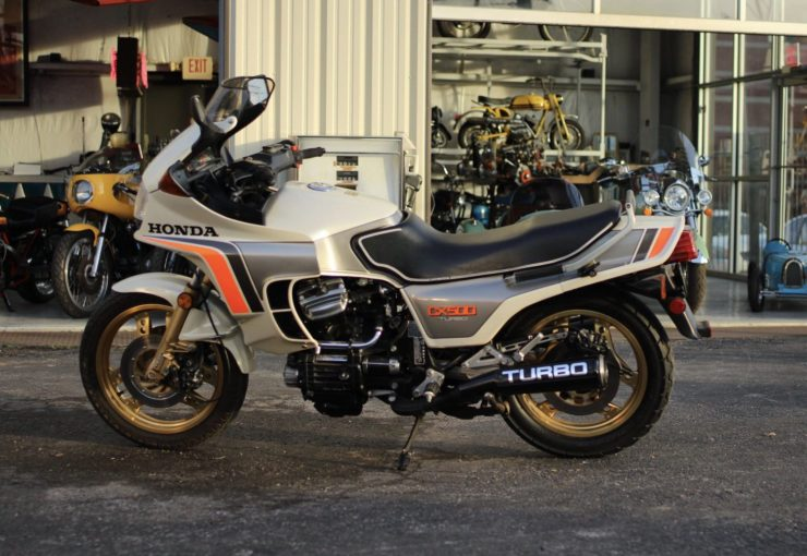 Honda CX500 Turbo Side