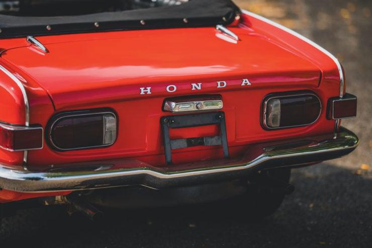 Honda S800 Back 2