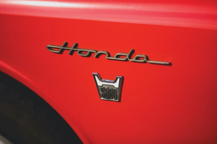 Honda S800 Badge