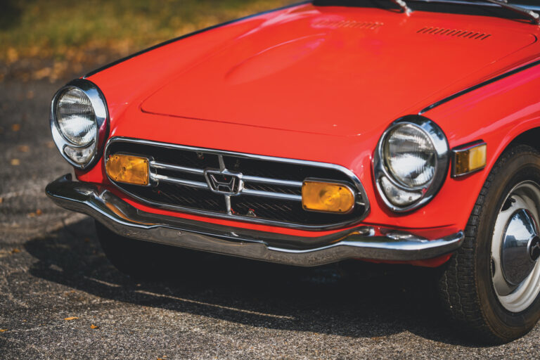 1969 Honda S800 Convertible - The Godfather Of The Honda S2000