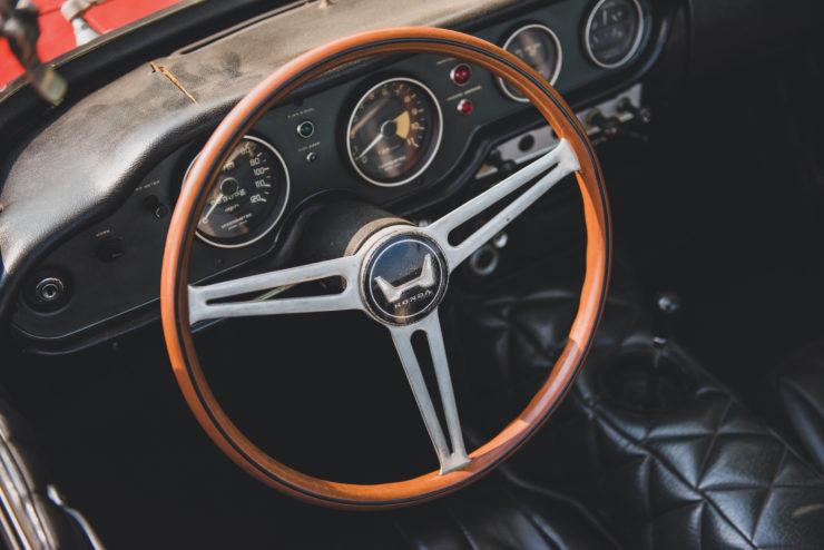 Honda S800 Steering Wheel