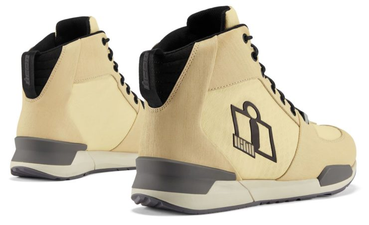 Icon Tarmac WP Boots Tan Back