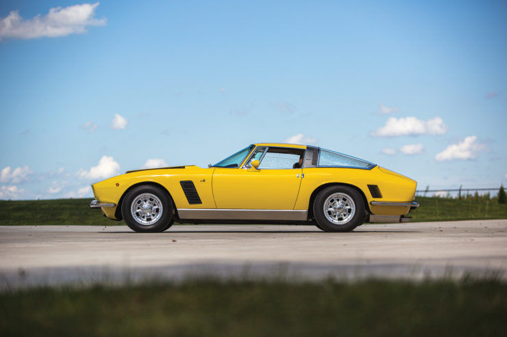 Iso Grifo Side