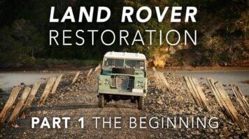 Land Rover Restoration Part 1