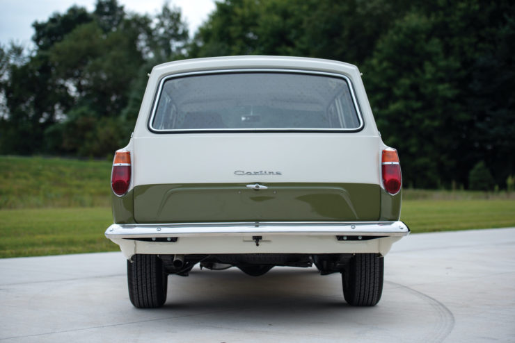 Lotus Cortina Custom Back
