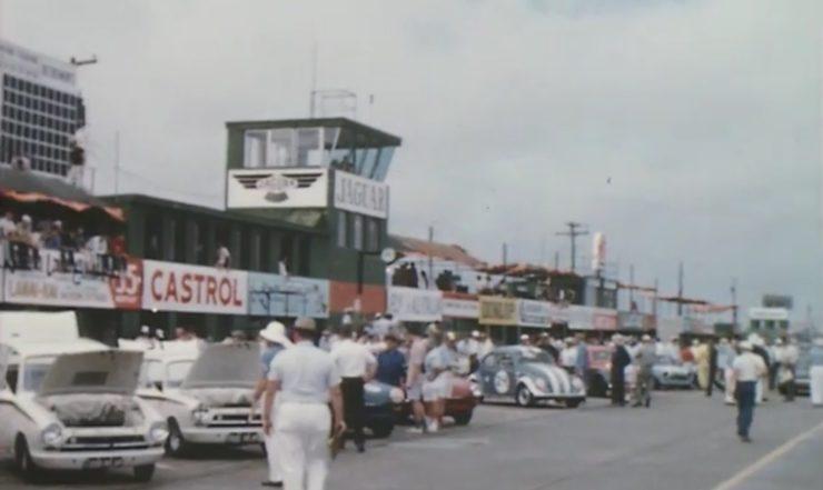 Lotus Cortina at Sebring