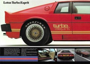 Lotus Esprit Brochure 1