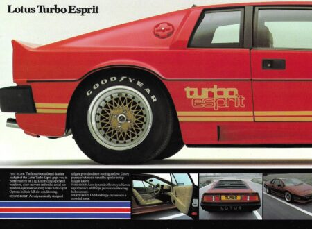 Lotus Esprit Brochure 1