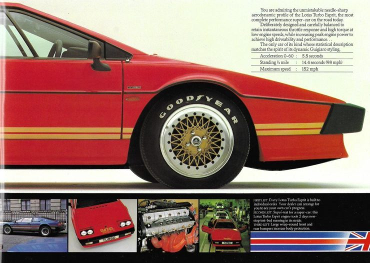 Lotus Esprit Brochure 6