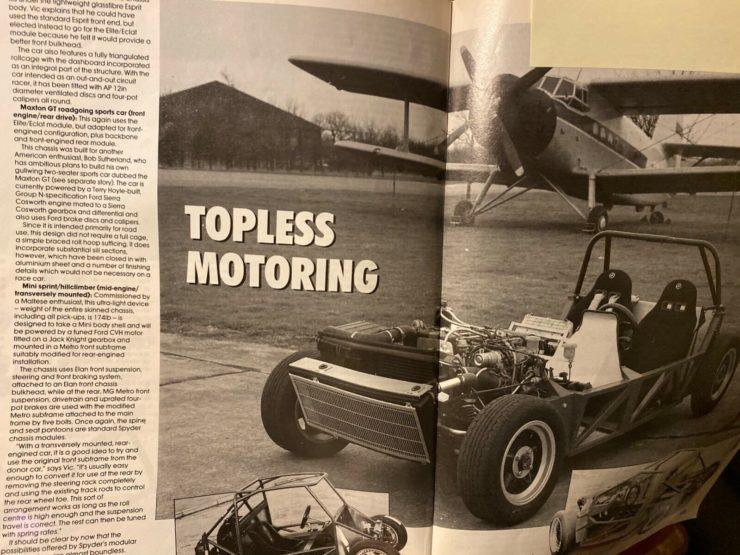 Spydersport Maxton GT Prototype Magazine