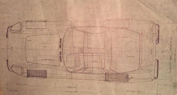 Spydersport Maxton GT Prototype Overhead View