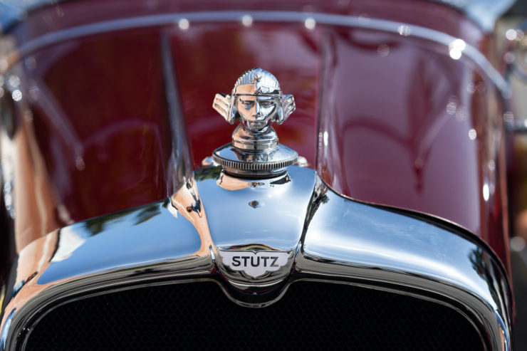 Stutz Model BB Badge