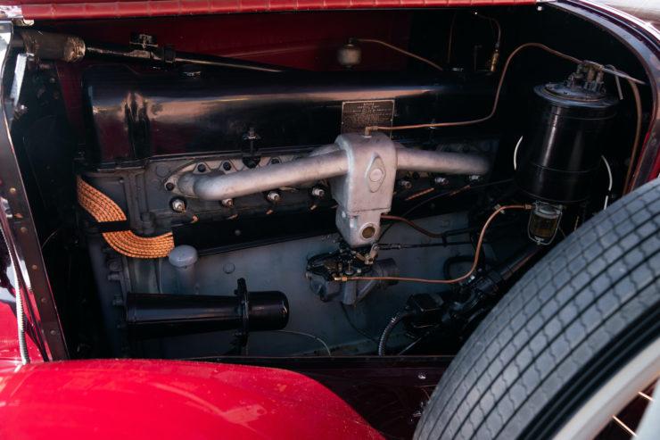 Stutz Model BB Engine