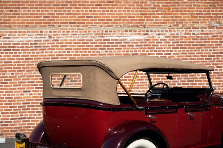 Stutz Model BB Roof