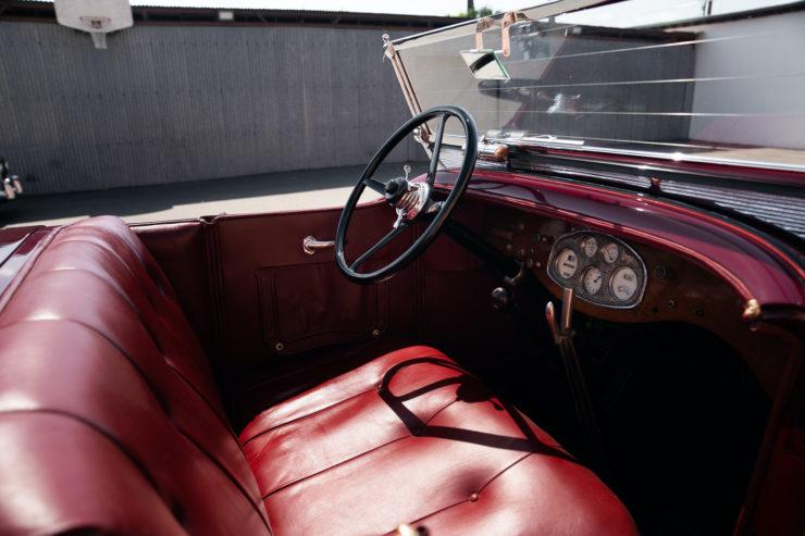 Stutz Model BB Seats