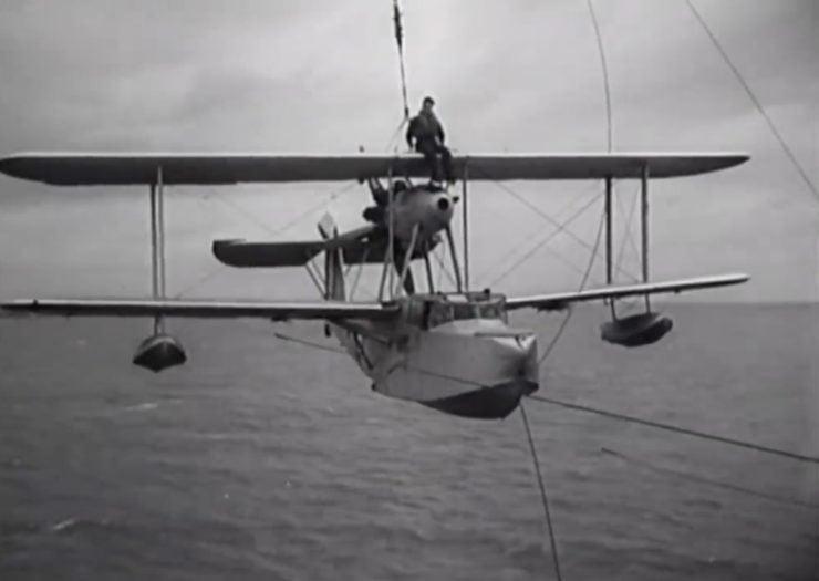 Supermarine Walrus Catapult 1