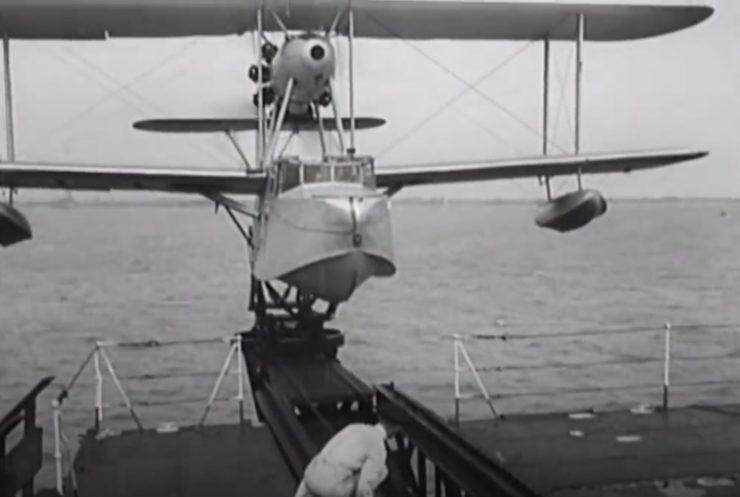 Supermarine Walrus Catapult 3