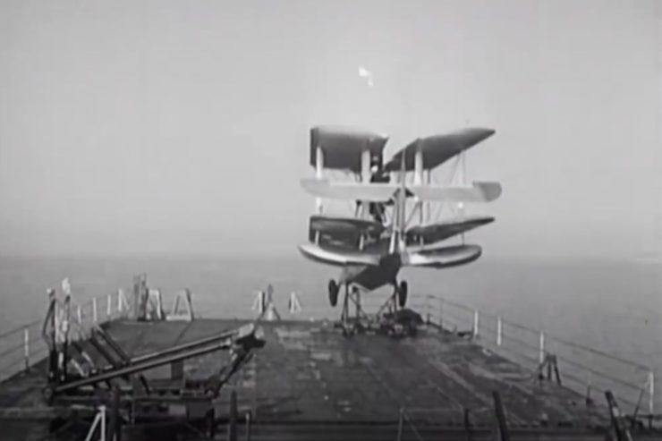Supermarine Walrus Catapult 4