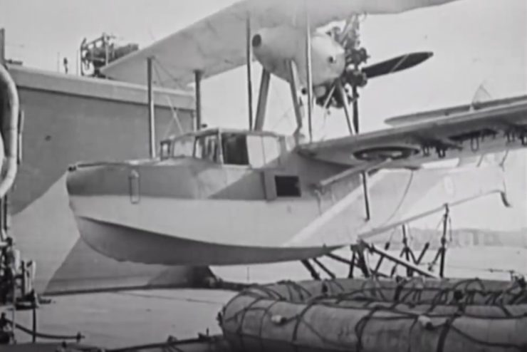 Supermarine Walrus Catapult 5