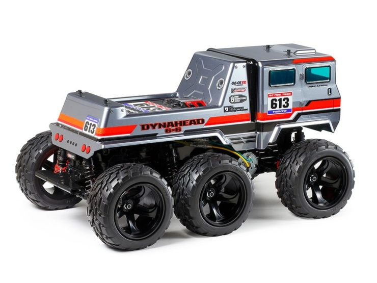Tamiya Dynahead 6x6 RC Truck Back