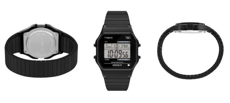 Timex T80 Digital Watch Black
