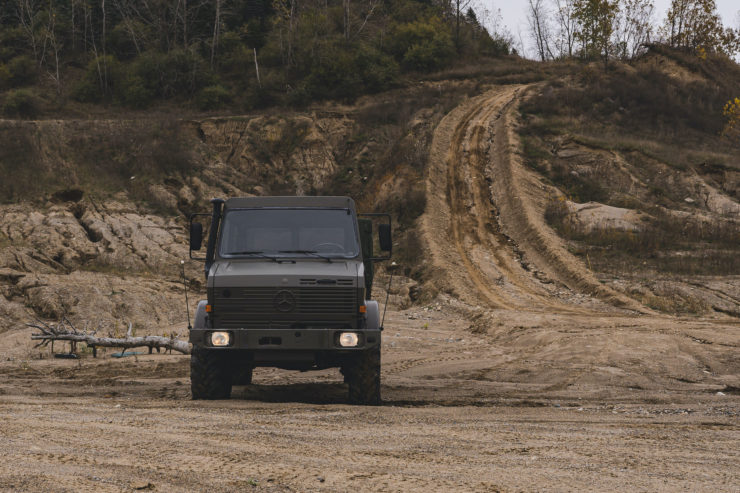 Unimog 437 Front