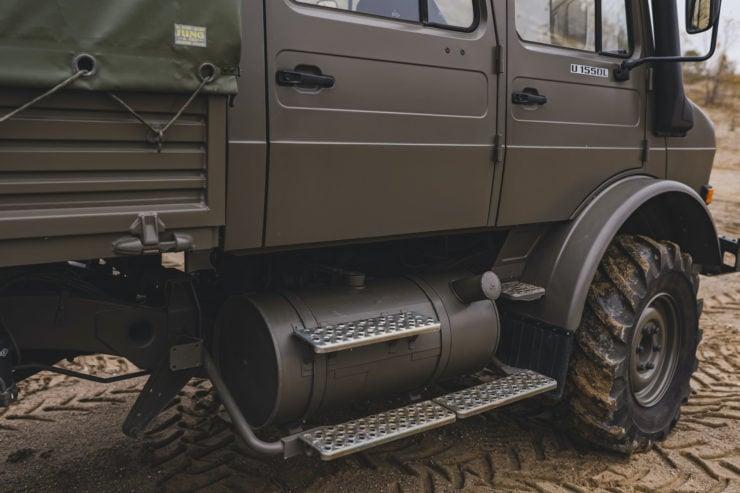 Unimog 437 Fuel Tank