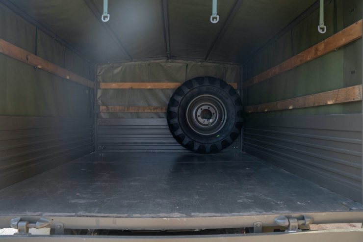 Unimog 437 Tray Back
