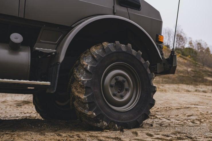 Unimog 437 Wheels