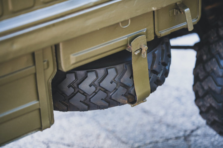 Steyr-Puch Haflinger Spare Tire