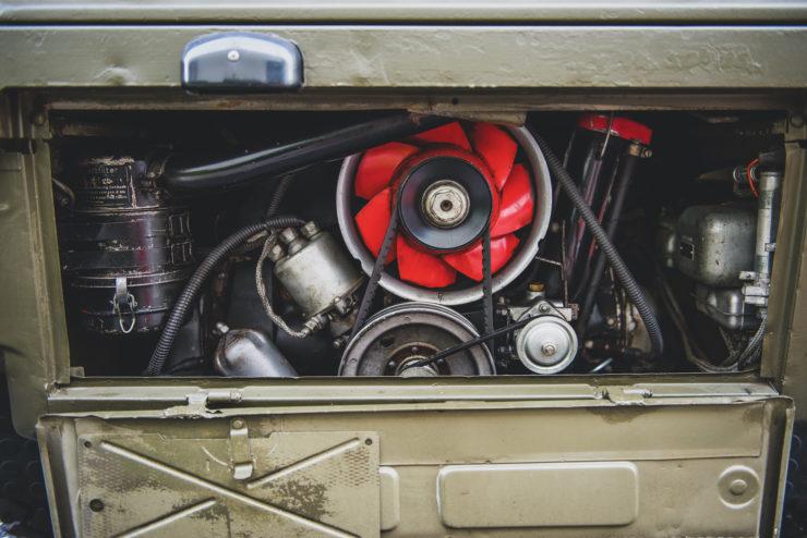 Steyr-Puch Haflinger Engine