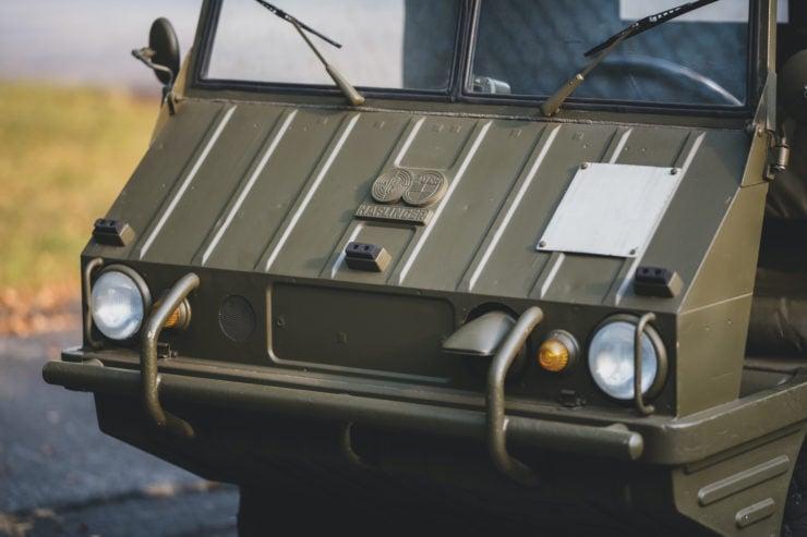 Steyr-Puch Haflinger Front