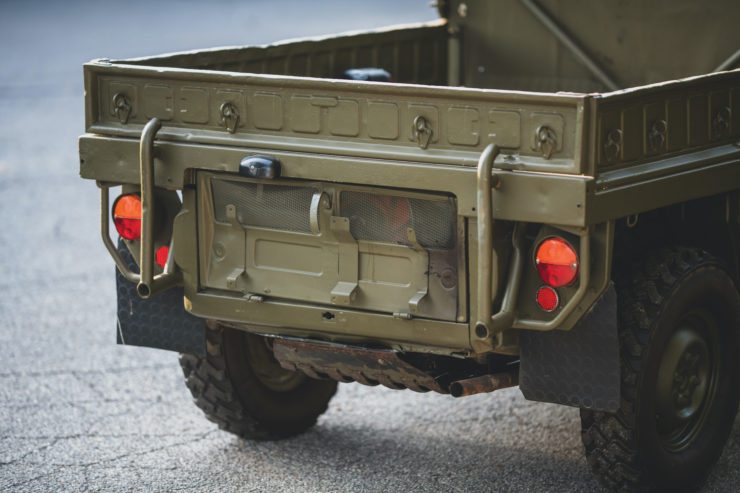 Steyr-Puch Haflinger Rear
