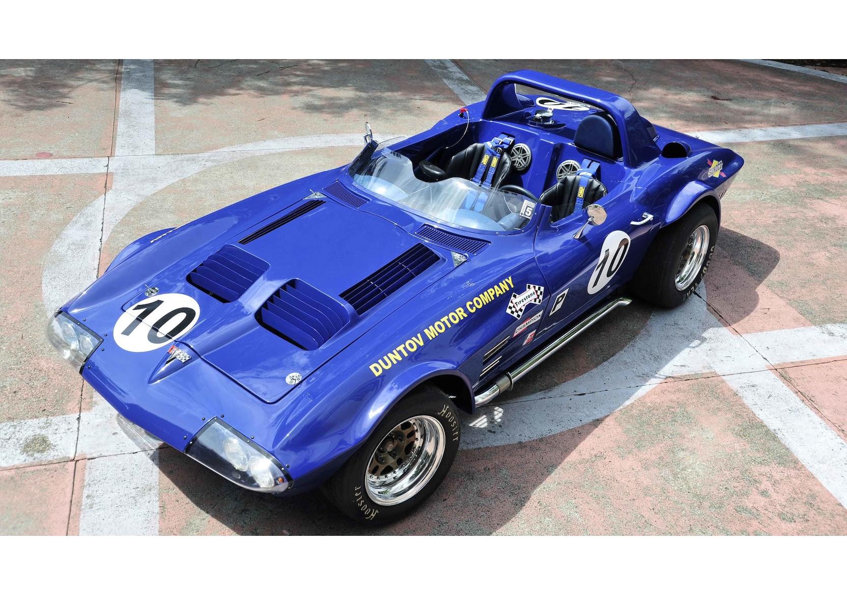 1963 Corvette Grand Sport Overhead