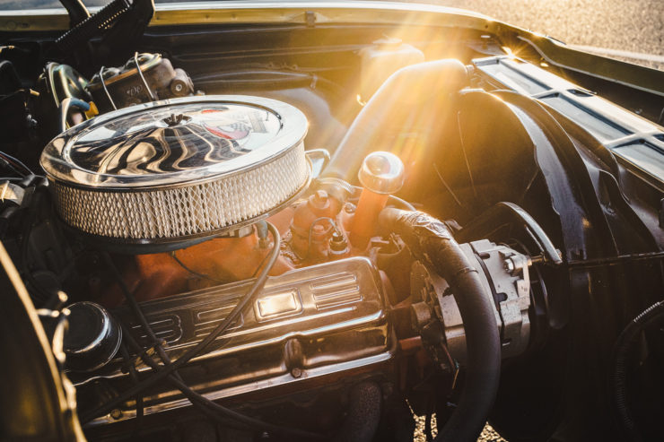 1968 Chevrolet Chevelle Malibu SS Engine