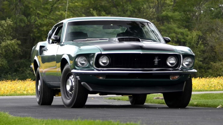 1969 Ford Mustang Mach 1 11