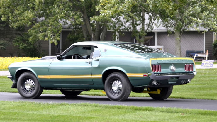 1969 Ford Mustang Mach 1 13