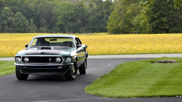 1969 Ford Mustang Mach 1 16
