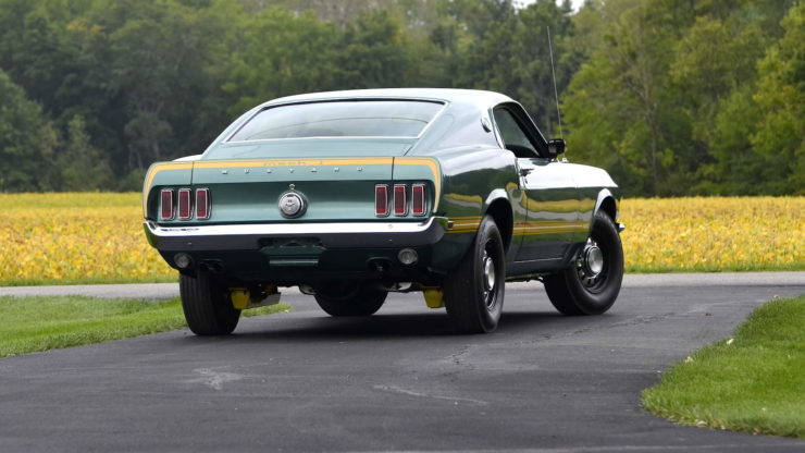 1969 Ford Mustang Mach 1 17